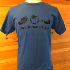 Corn Tomatoes Ack Mens Tee Front