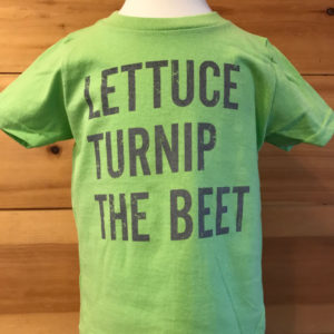 Lettuce Turnip Beet Toddler Tee