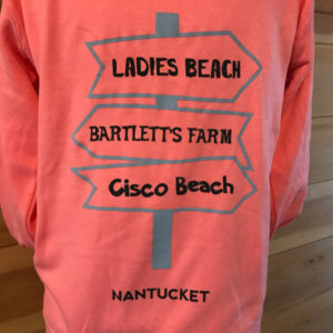 Sign Post Hoodie Back Cisco
