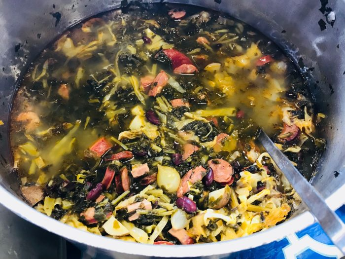 Madelyne Perry's Kale Soup