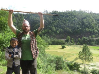 Farm Talk; Farming in Nepal with the Peace Corps with David Shepard