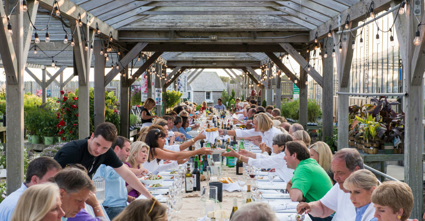 Farm to Table Dinner, Bartlett's Farm, Nantucket
