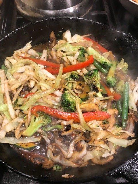 Mj's Chicken Lo Mein