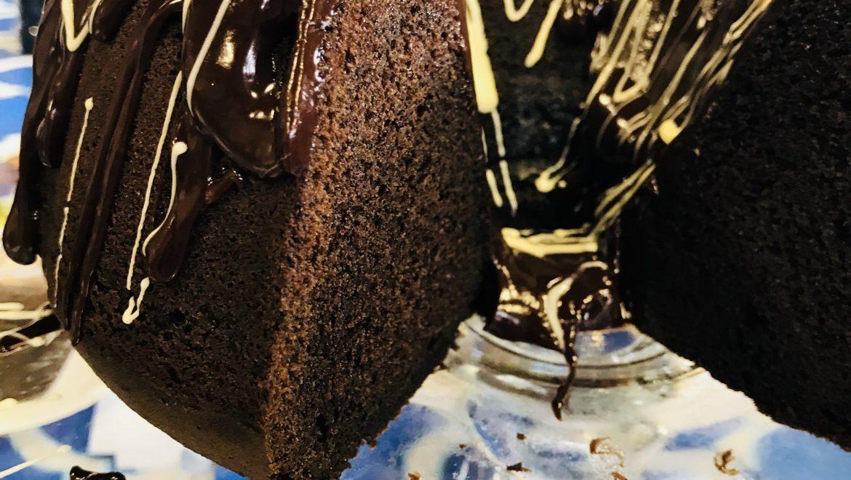 Mocha Chocolate Chip Pound Cake