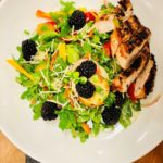 Salad chix blackberry