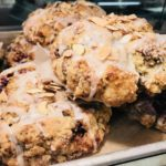 blackberry almond scone