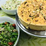 deli case quiche