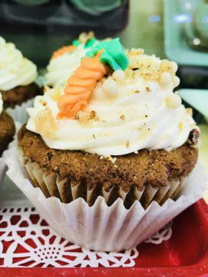dessert carrot cakes
