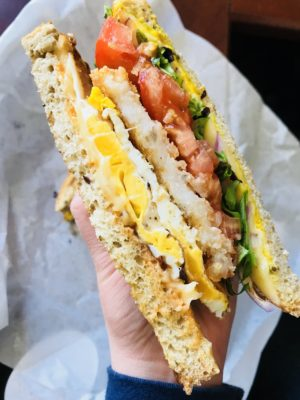 egg sandwich leah