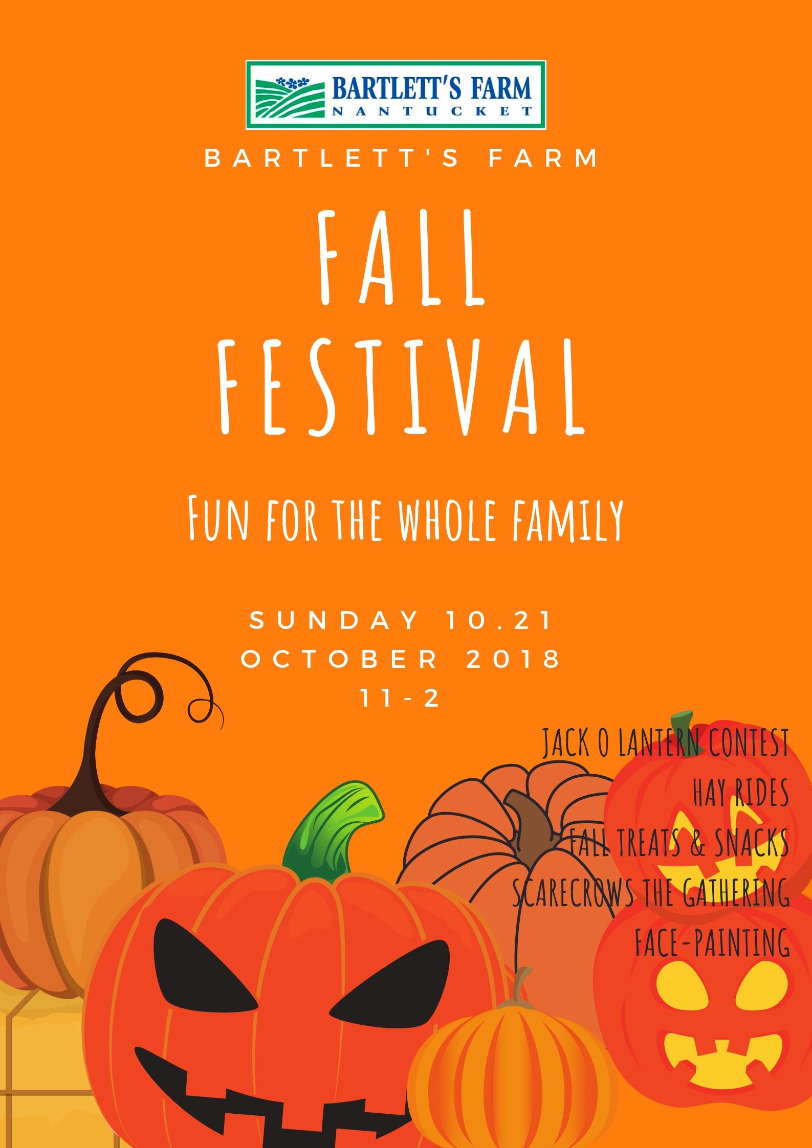 fall fest poster